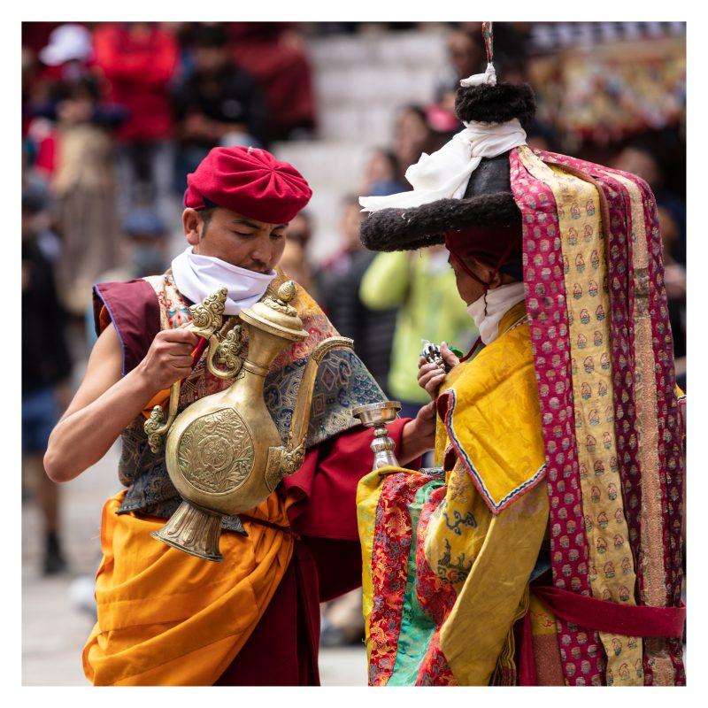 Lamas at Hemis Festival