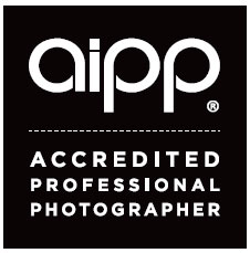 AIPP membership logo, Australian Institute of Professional Photography