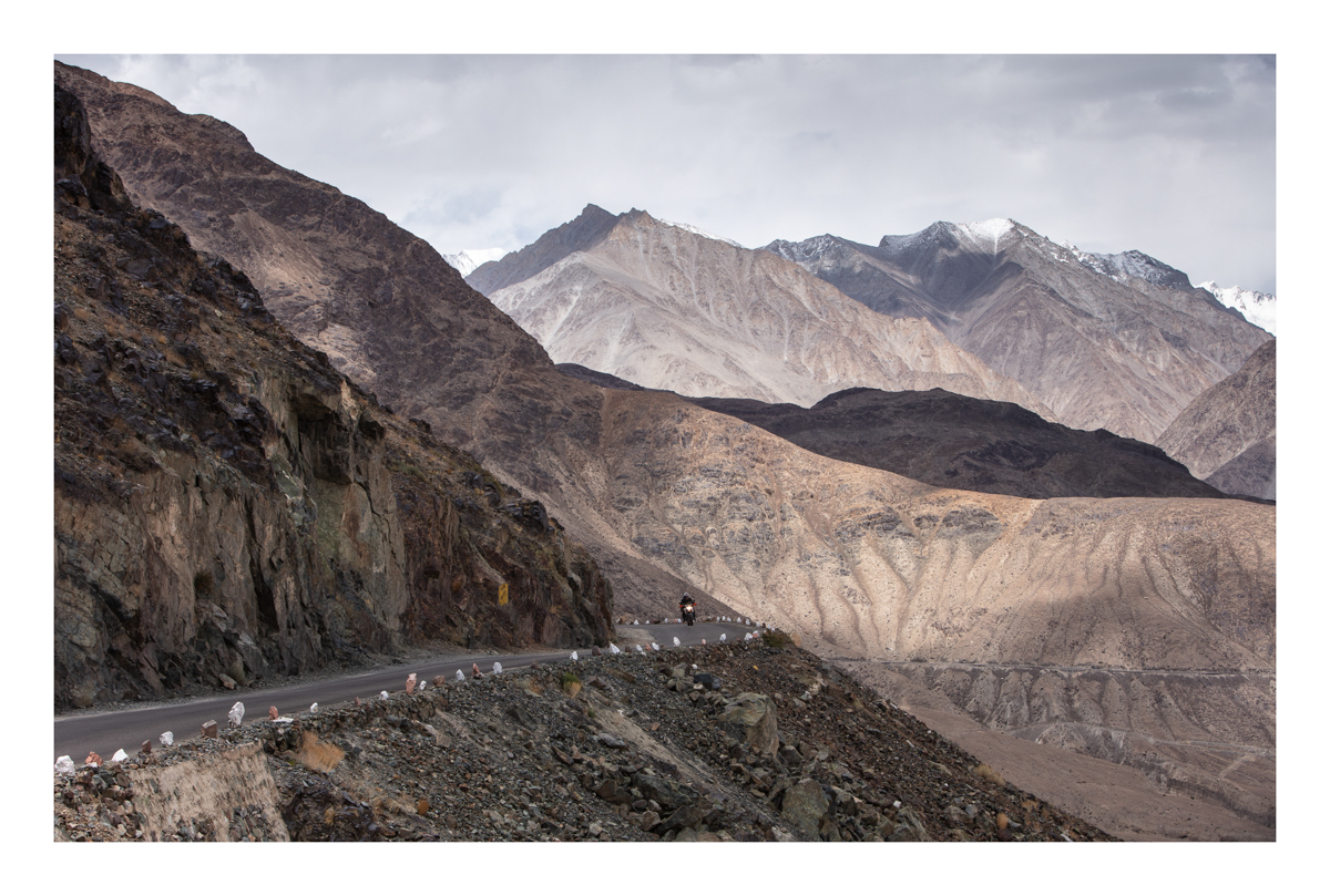 Ladakh mountain roads