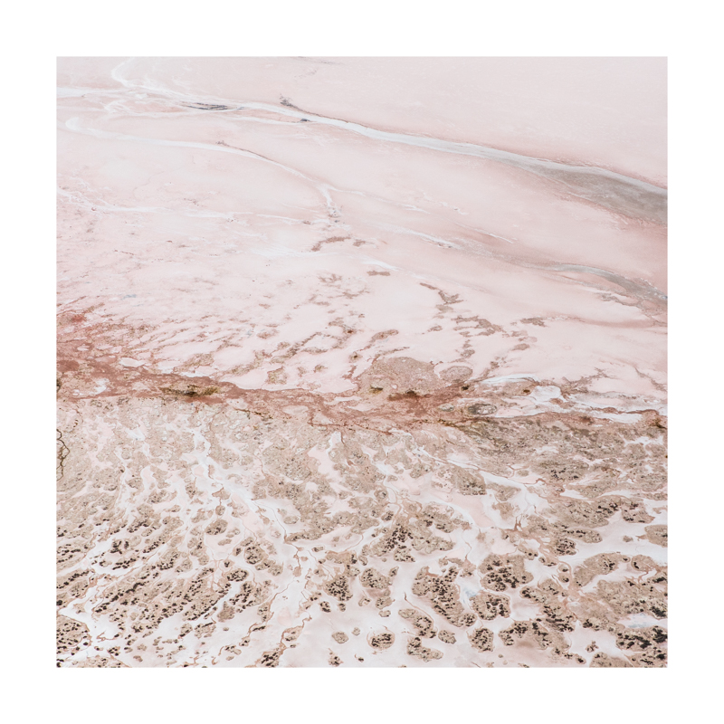 Photo of the Pink Lake at Hutt Lagoon