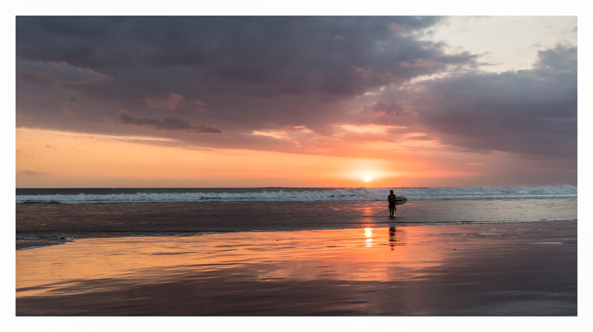 Kuta Beach Sunset Bali