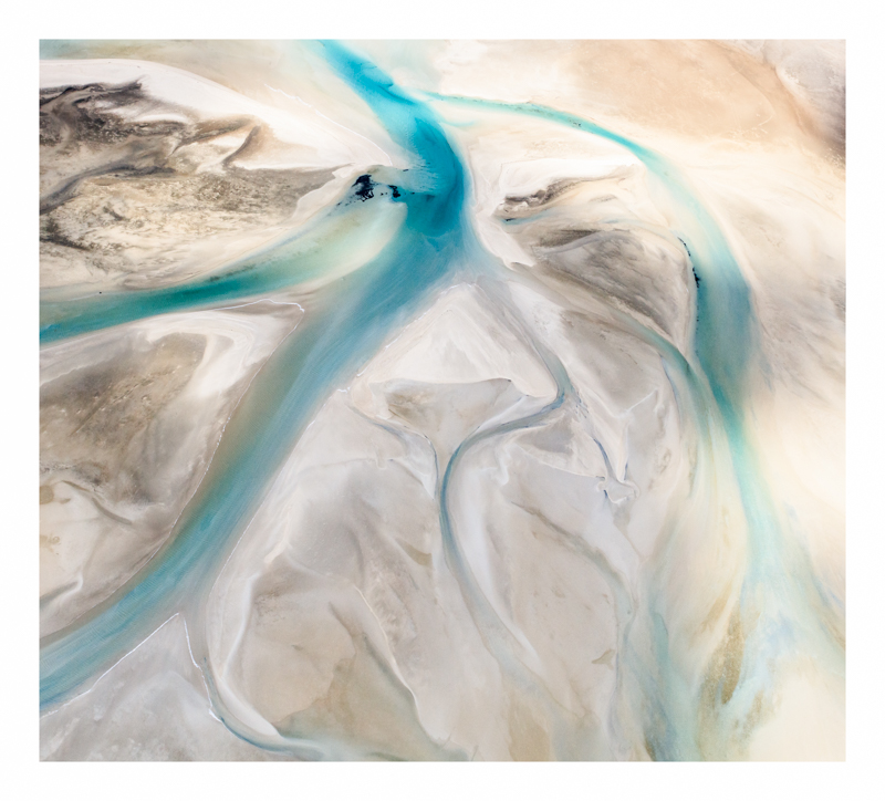 Aerial Landscape Shark Bay prints for sale
