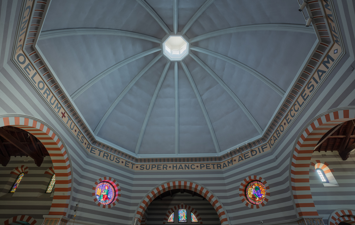 Inside view of Geraldton Cathedral