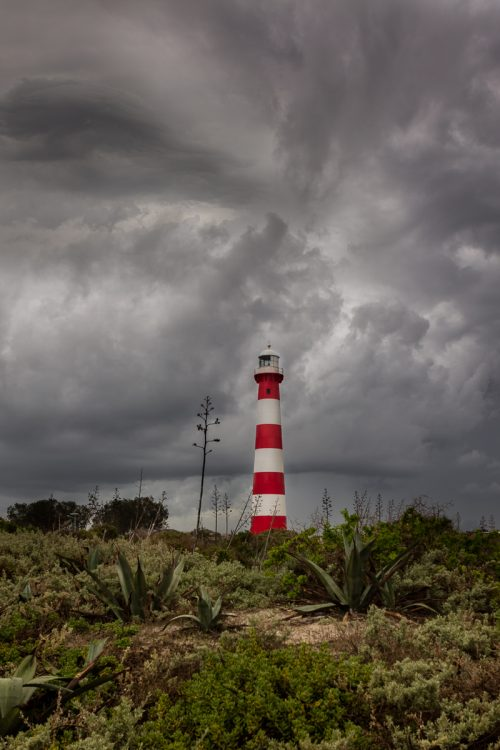 Photo of Point Moore on a stormy winter's day. Geraldton