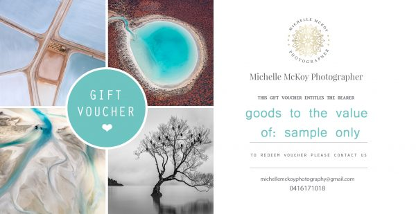 Gift Voucher from Michelle McKoy Photography Geraldton for Landscape prints