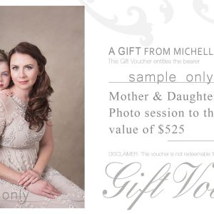 Mother and Daughter Photo session Gift voucher Geraldton